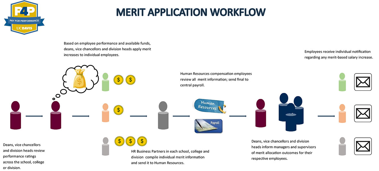 illustration of the merit application and allocation process