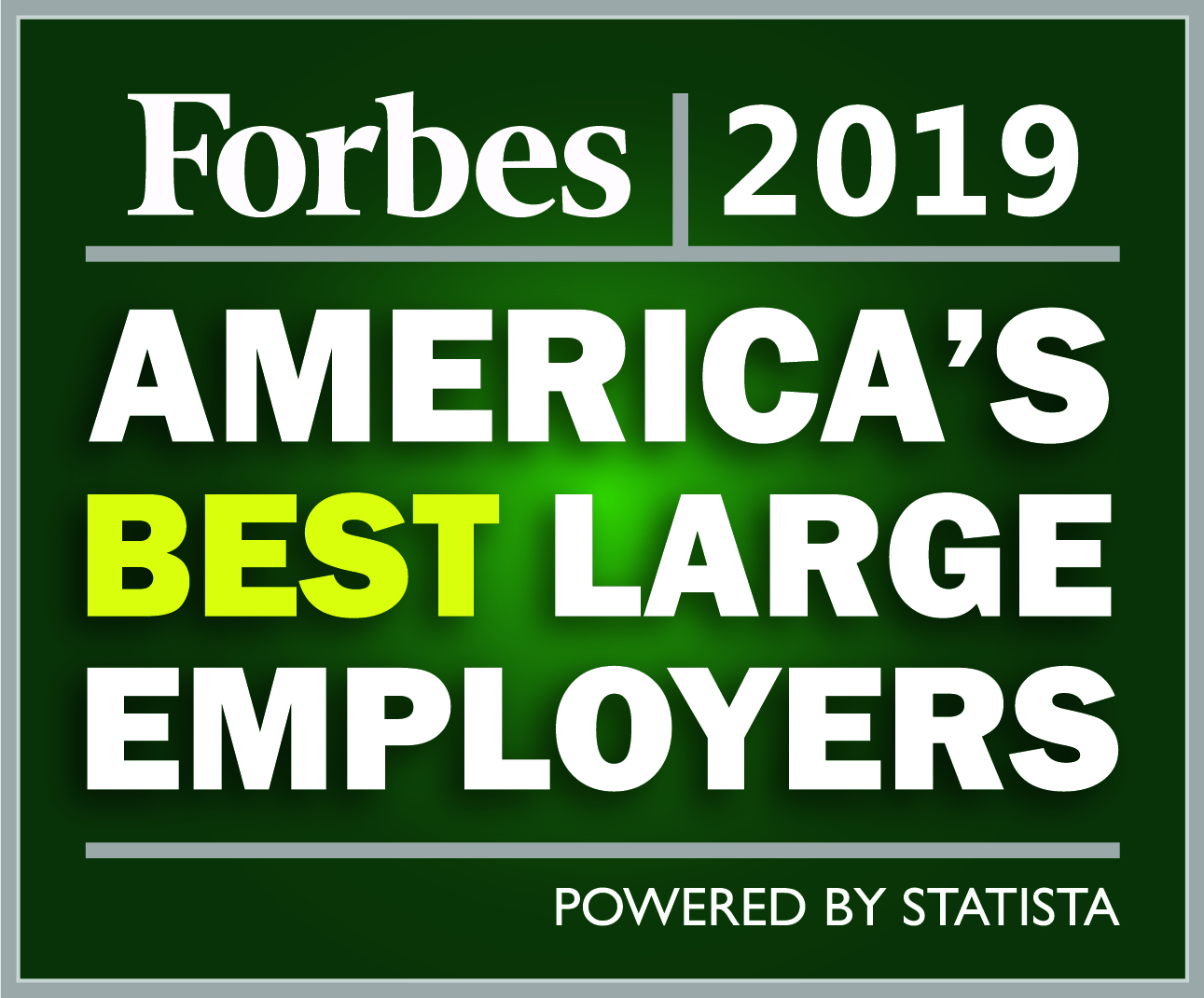 Best Large Employers 2019