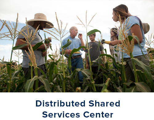 Click this graphic to go to the Distributed Shared Services Center.